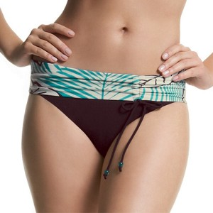 Fantasie Honolulu Fold Bikini Briefs - Peacock