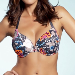 Fantasie Corfu Halter Bikini Top - Titanium