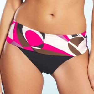 Fantasie Athens Fold Bikini Briefs - Pink Flambe
