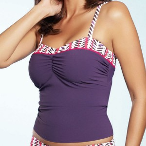 Fantasie Dublin Underwired Tankini Top - Plum