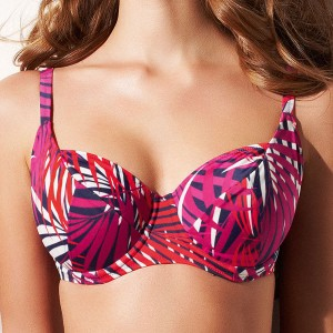 Fantasie Tahiti Balcony Bikini Top - Cayenne