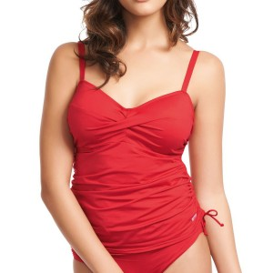 Fantasie Versailles Twist Tankini Top - Fire Red