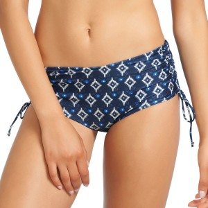 Fantasie Istanbul Adjustable Leg Bikini Short - Navy