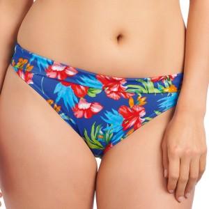 Freya Acapulco Fold Bikini Brief - Cobalt