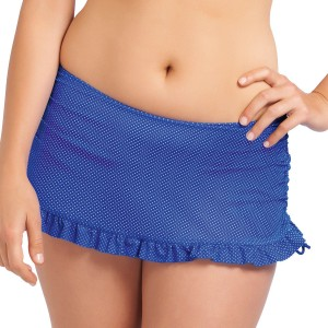 Freya Cherish Skirted Bikini Brief - Cobalt