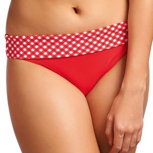 Freya Tootsie Fold Bikini Briefs - Poppy Check