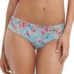 Panache Fern Brief - Blue/Floral
