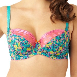 Panache Cleo Nyla Balconnet Bra - Floral Print
