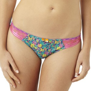 Panache Cleo Nyla Thong - Floral Print
