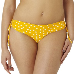 Panache Cleo Betty Drawstring Bikini Brief - Yellow