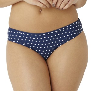 Panache Cleo Leena Brazilian Bikini Brief - Heart Print