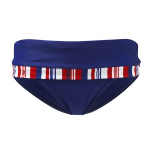 Panache Stella Folded Bikini Brief - Navy