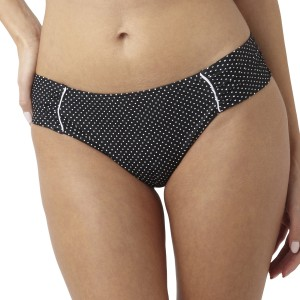 Panache Britt Gather Bikini Brief - Black