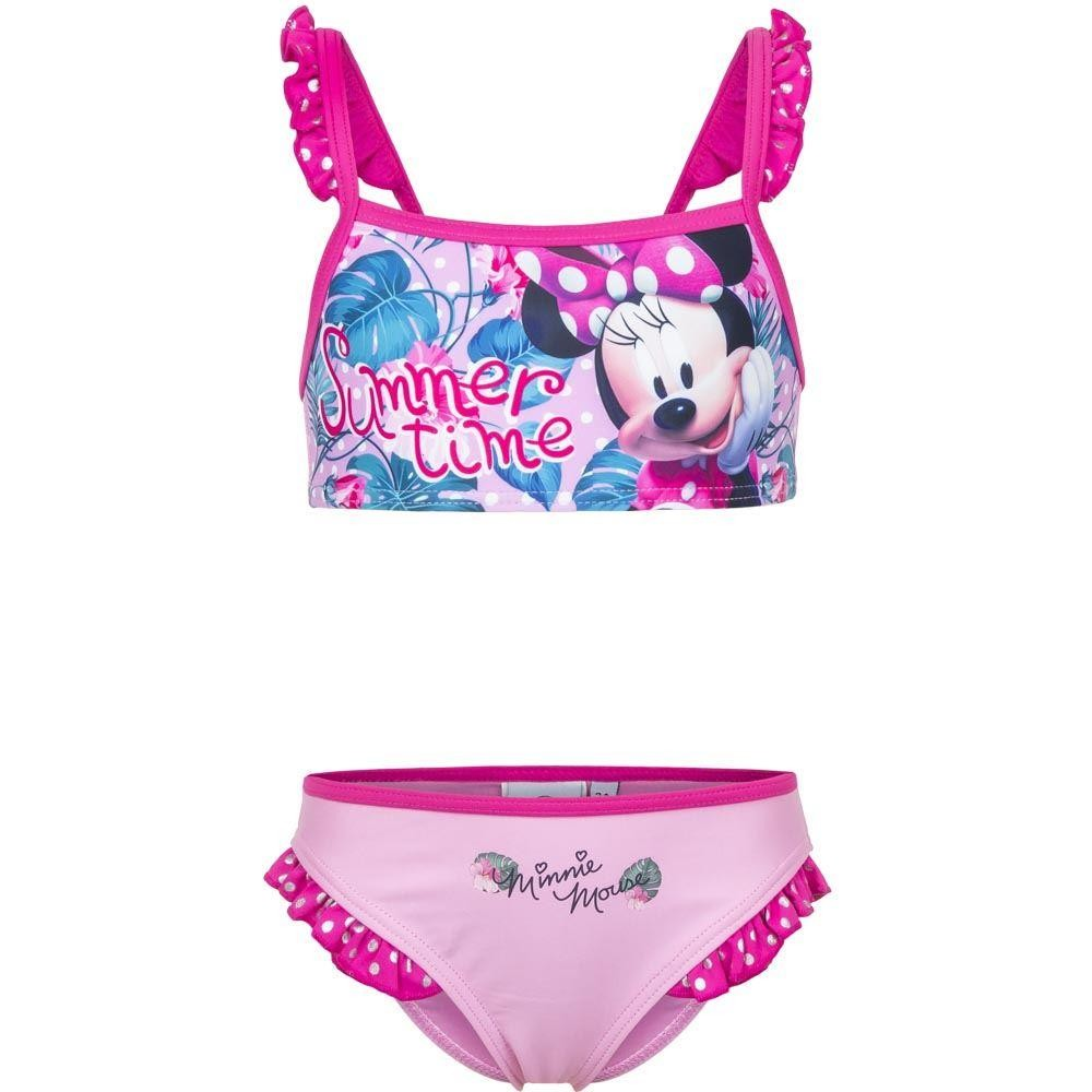 Girls Disney Minnie Mouse 'Summer Time' Bikini Set