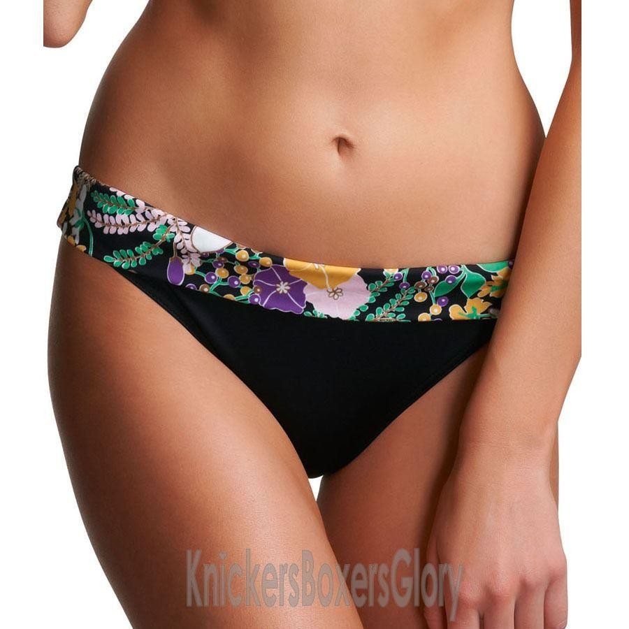 Freya Adelphi Fold Bikini Brief - Black