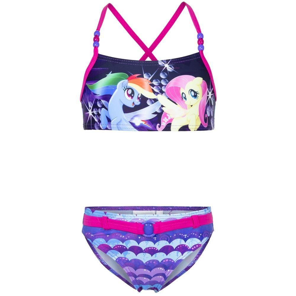 Girls My Little Pony Fushia Bikini Set