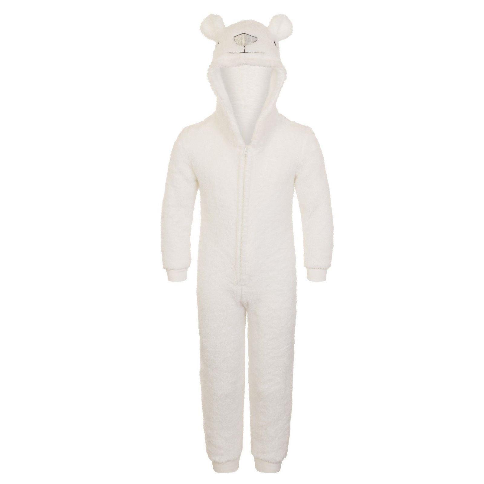 Nifty Kids Polar Bear Fleece Onesie