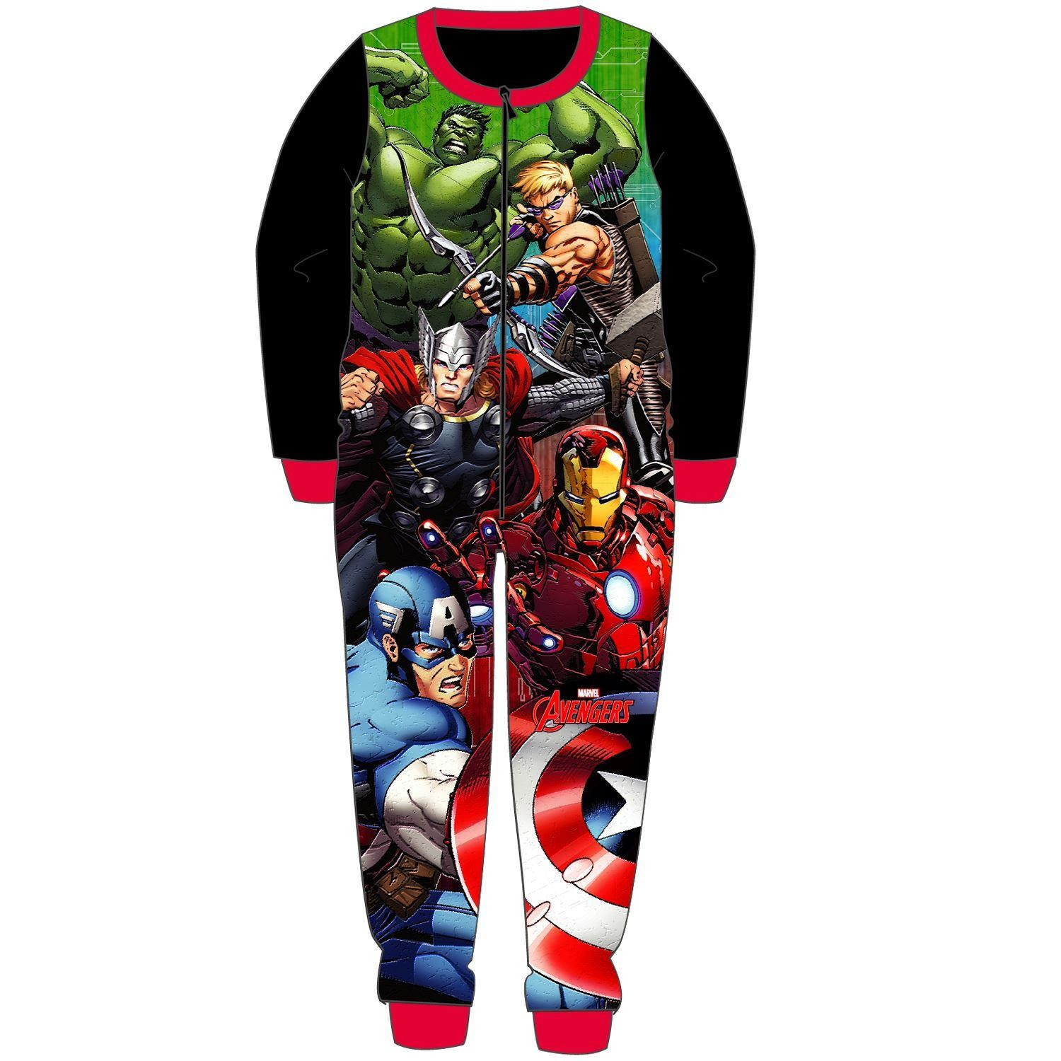 Marvel Avengers Fleece Onesie - Black
