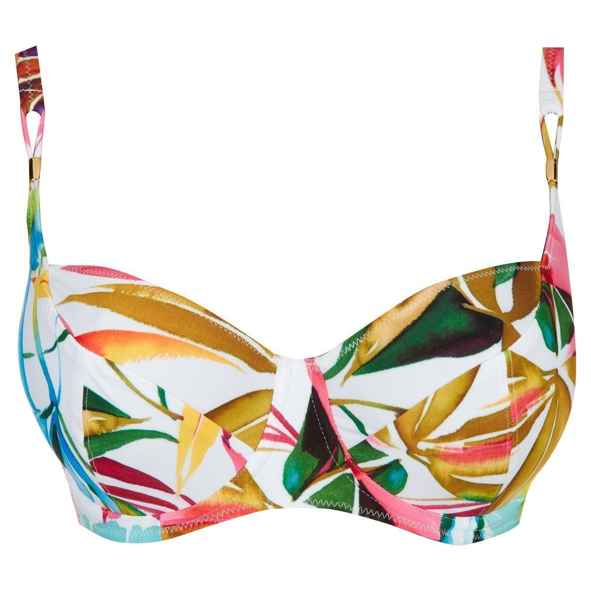 Fantasie Boca Chica Balcony Bikini Top - Tropical