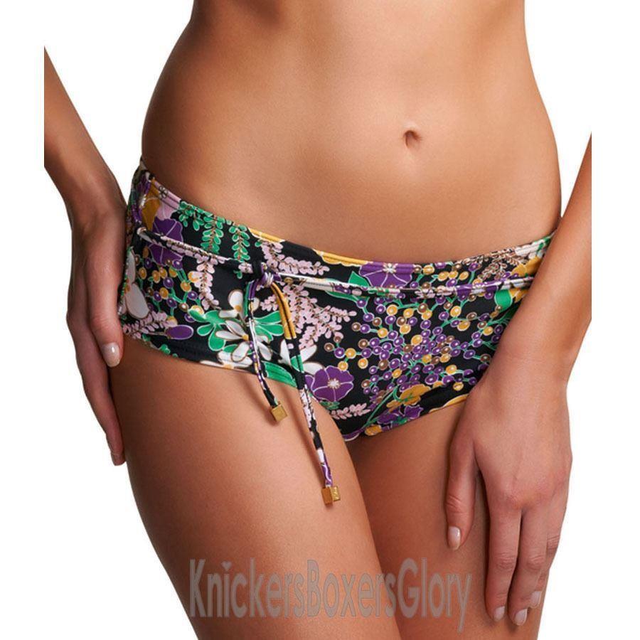 Freya Adelphi Low Rise Boy Bikini Short - Black