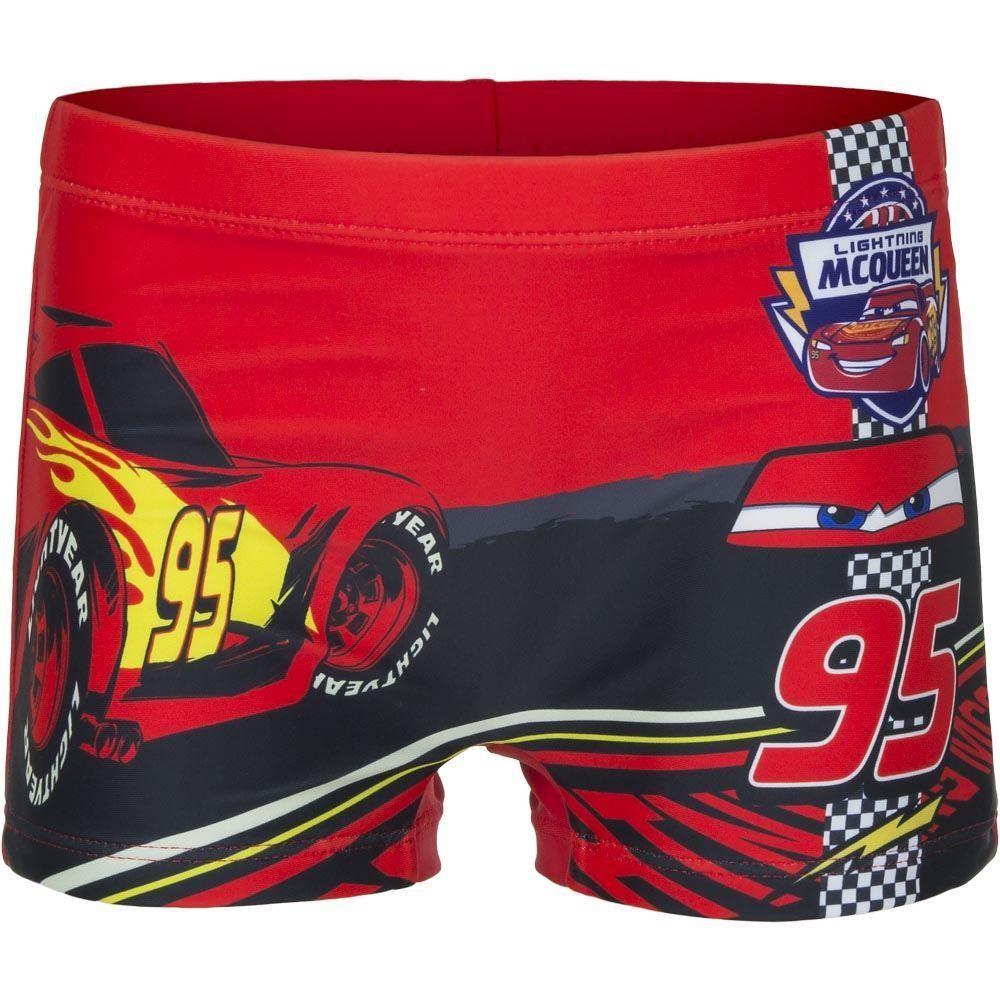 Disney Cars Swimming Shorts - Red