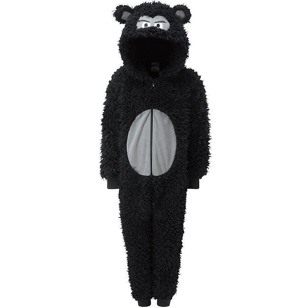 Animal Crazy Gorilla Fleece Costume Onesie