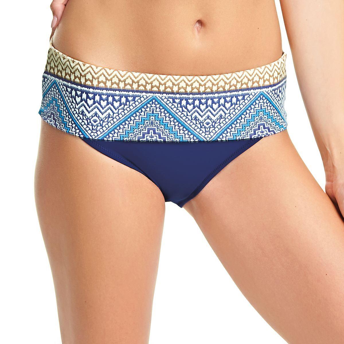 Fantasie Granada Classic Fold Bikini Brief - Ink