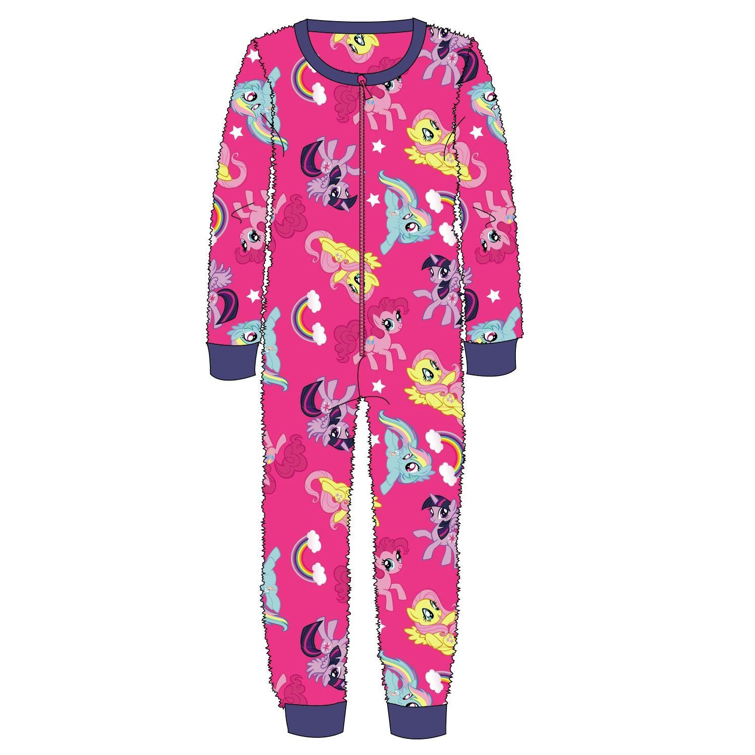 My Little Pony Rainbow Fleece Onesie