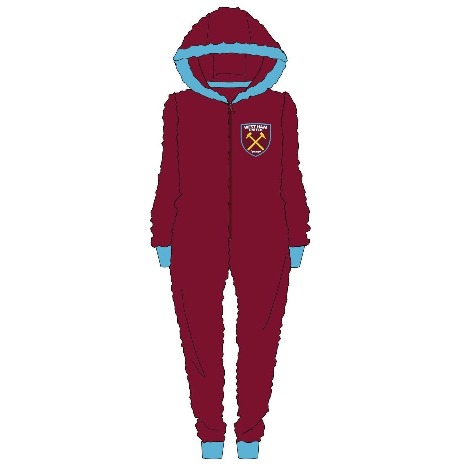 Men's West Ham United Fleece Onesie