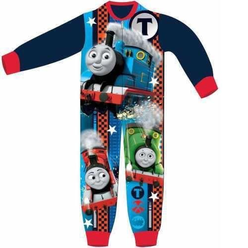 Thomas Fleece Onesie - Blue