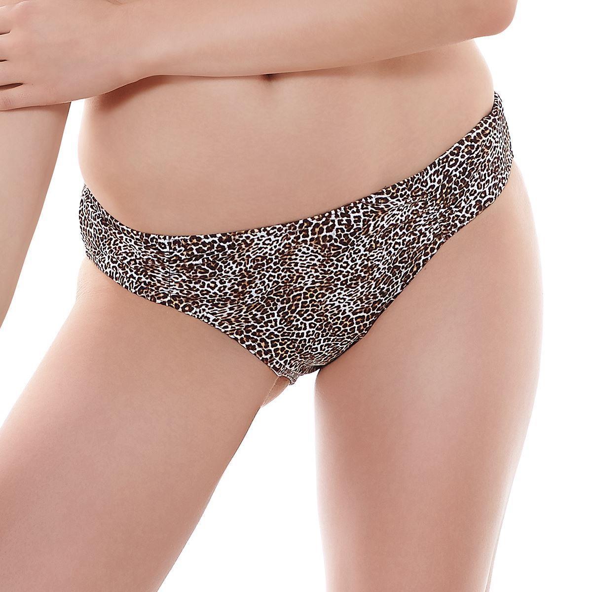 Freya Rumble Hipster Bikini Brief - Leopard Print