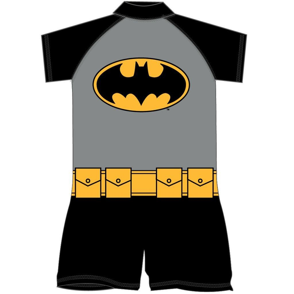 Batman Costume Surf Suit