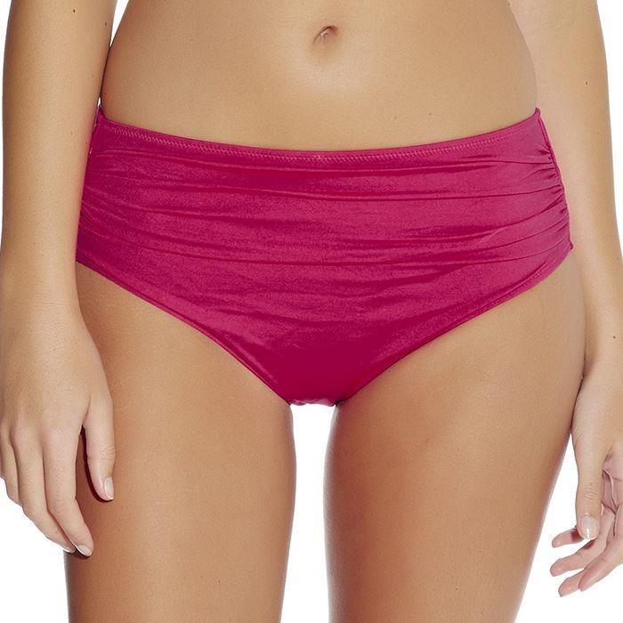 Fantasie Versailles Deep Gathered Control Bikini Brief - Bright Pink