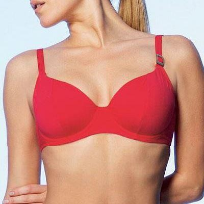 Fantasie Seattle Sweetheart Bikini Top - Rouge