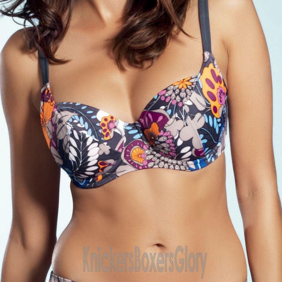Fantasie Corfu Balcony Bikini Top - Titanium