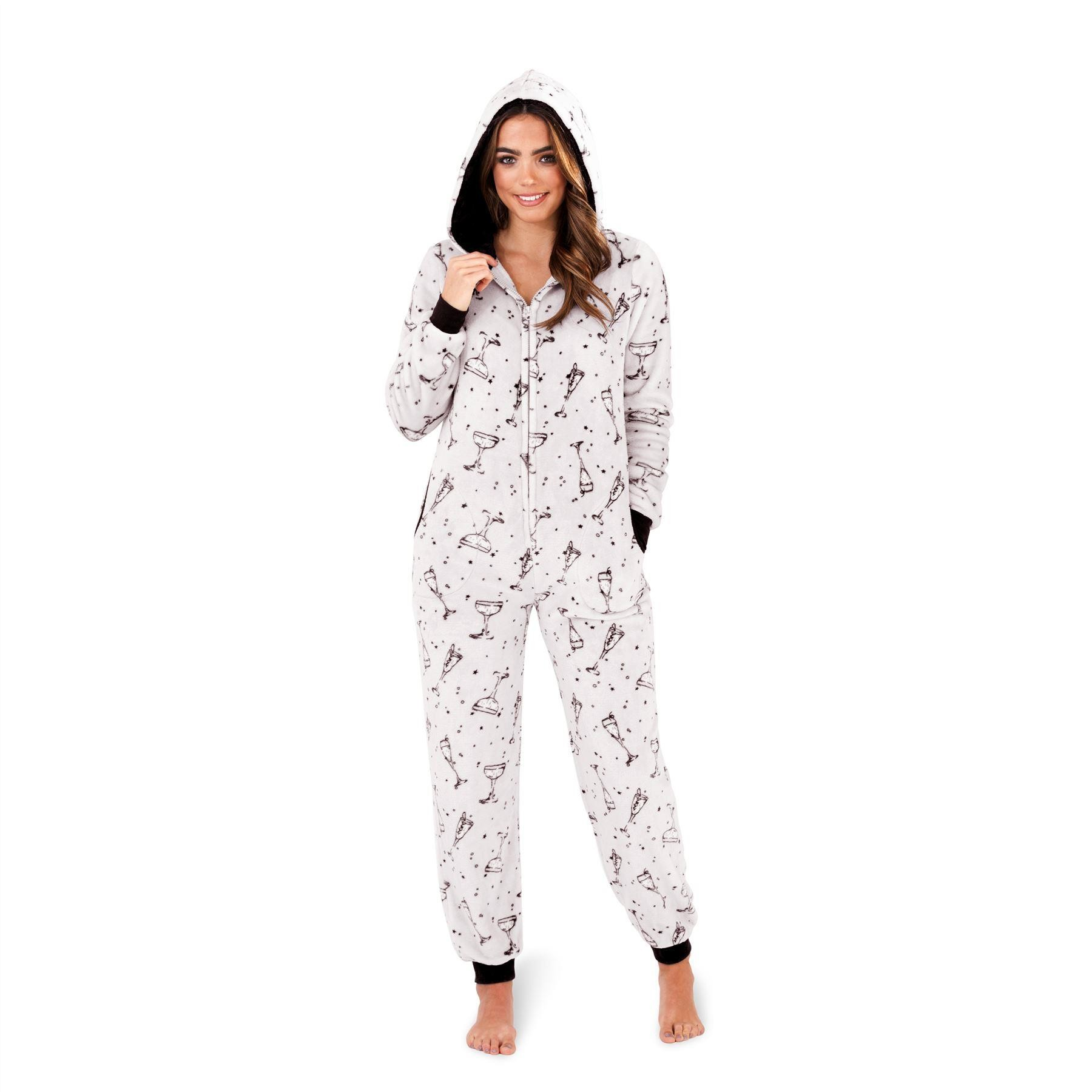 Loungeable Boutique Cocktail Party Onesie