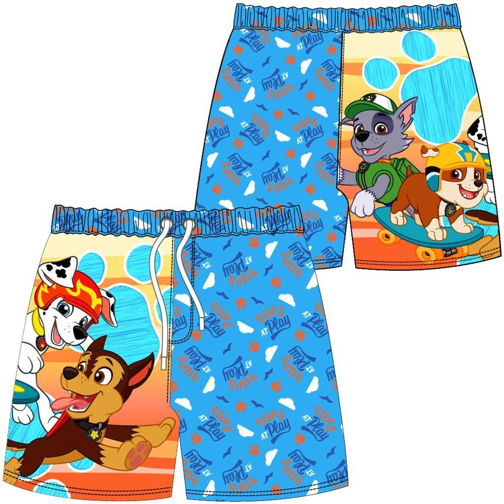 Boys Paw Patrol 'Pups at Play' Swim Shorts