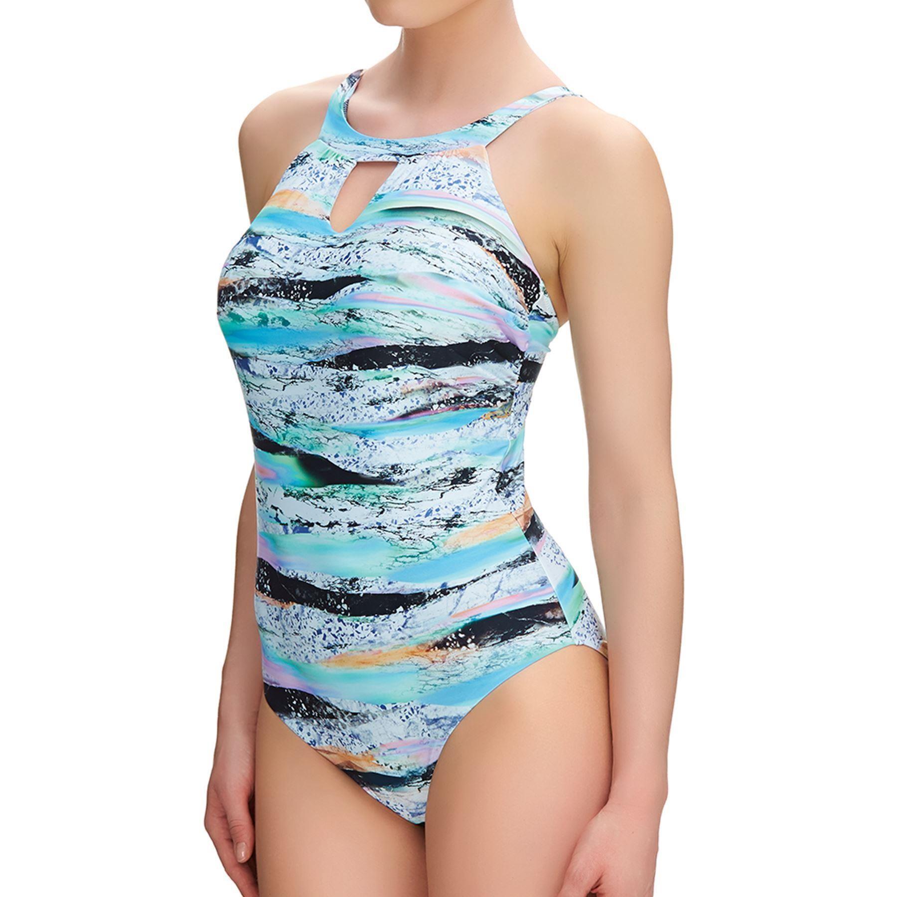 Fantasie Kiruna High Neck Swimsuit - Multi