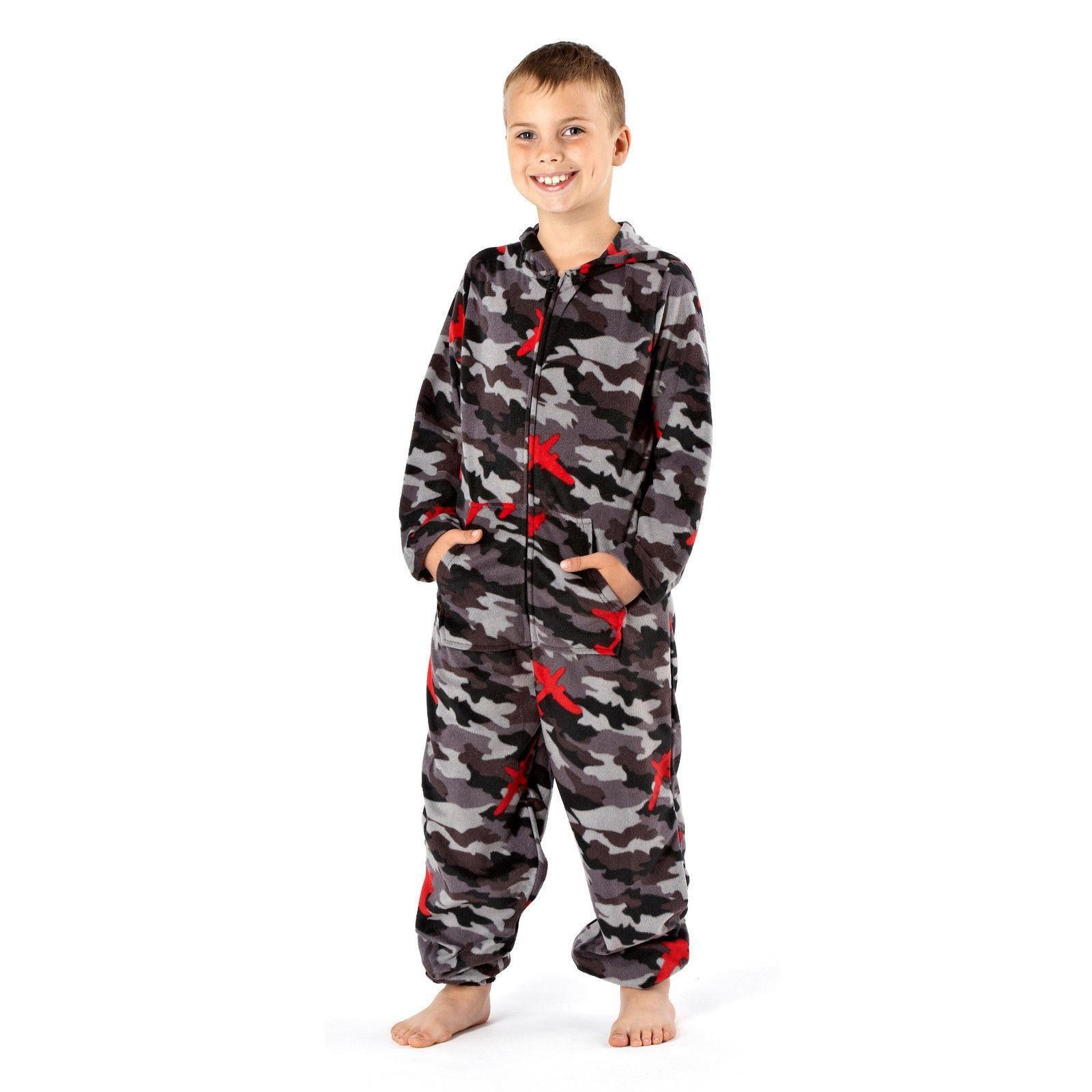 One 07 Army Camouflage Print Onesie - Grey