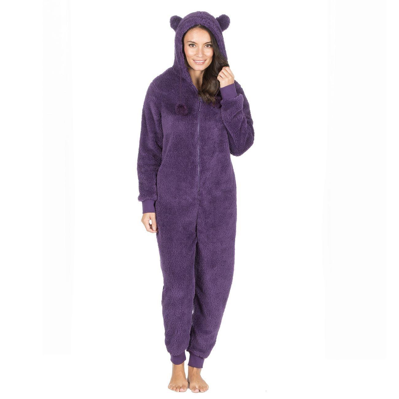 Onezee Snuggle Fleece Onesie - Purple