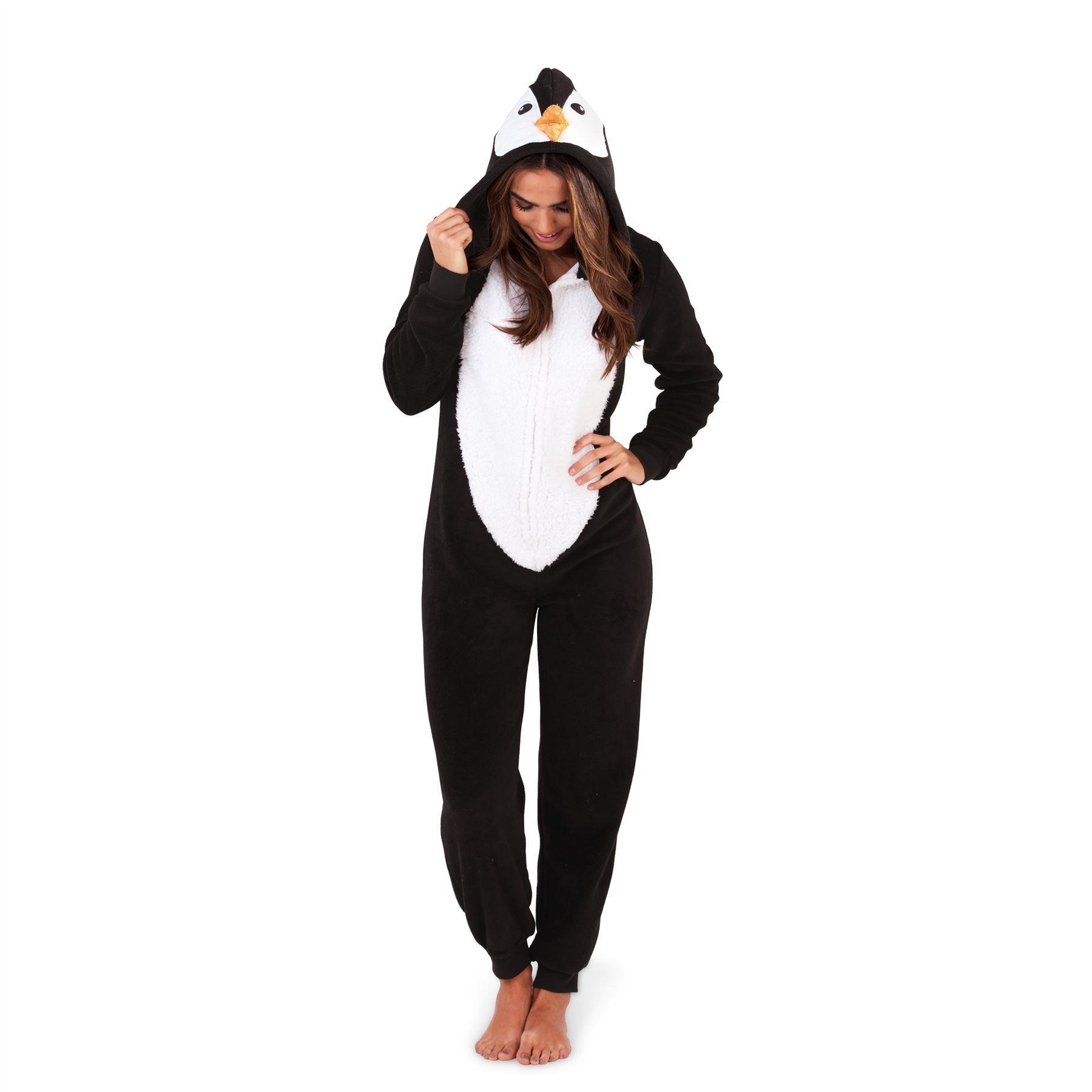Loungeable Boutique Penguin Onesie