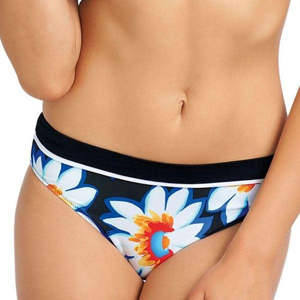 Fantasie Santa Fe Mid Rise Bikini Brief - Persian Blue