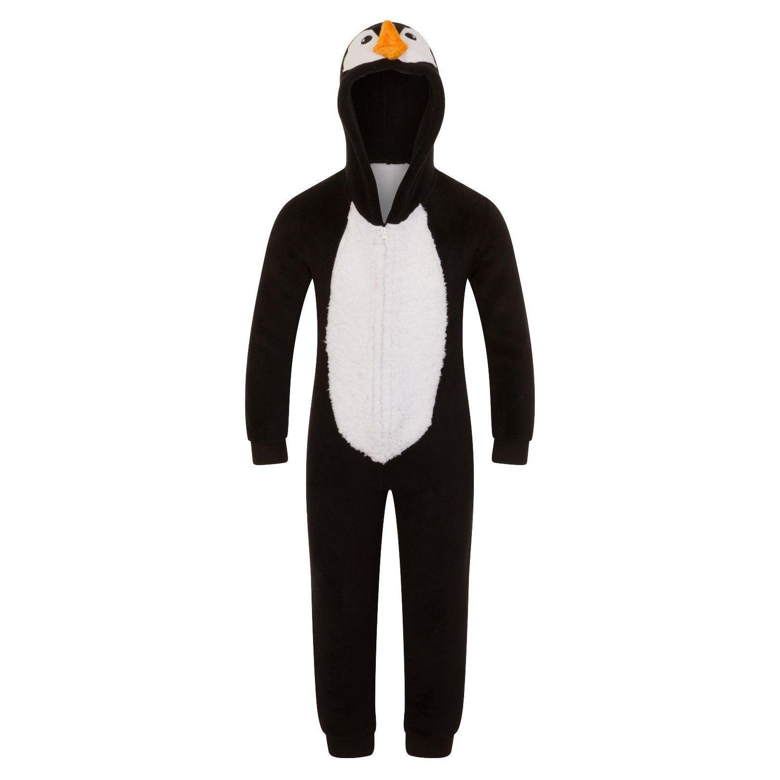 Nifty Kids Penguin Fleece Onesie