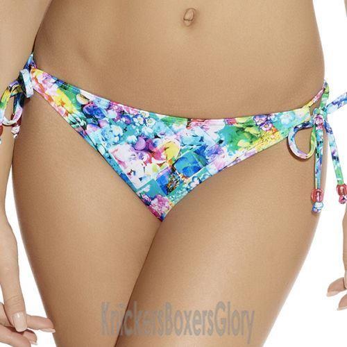 Freya Paradise Island Rio Tie Side Bikini Brief - Fondant