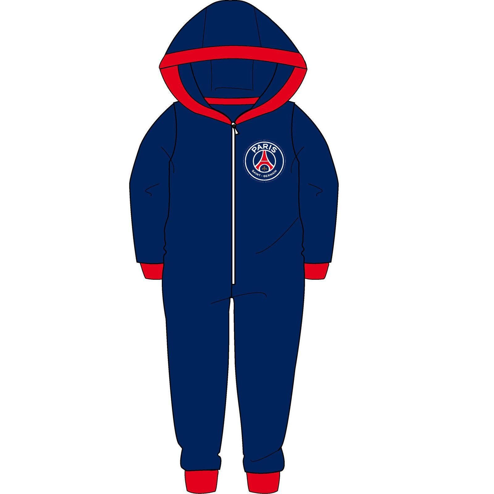 Children's Paris Saint Germain FC Fleece Onesie
