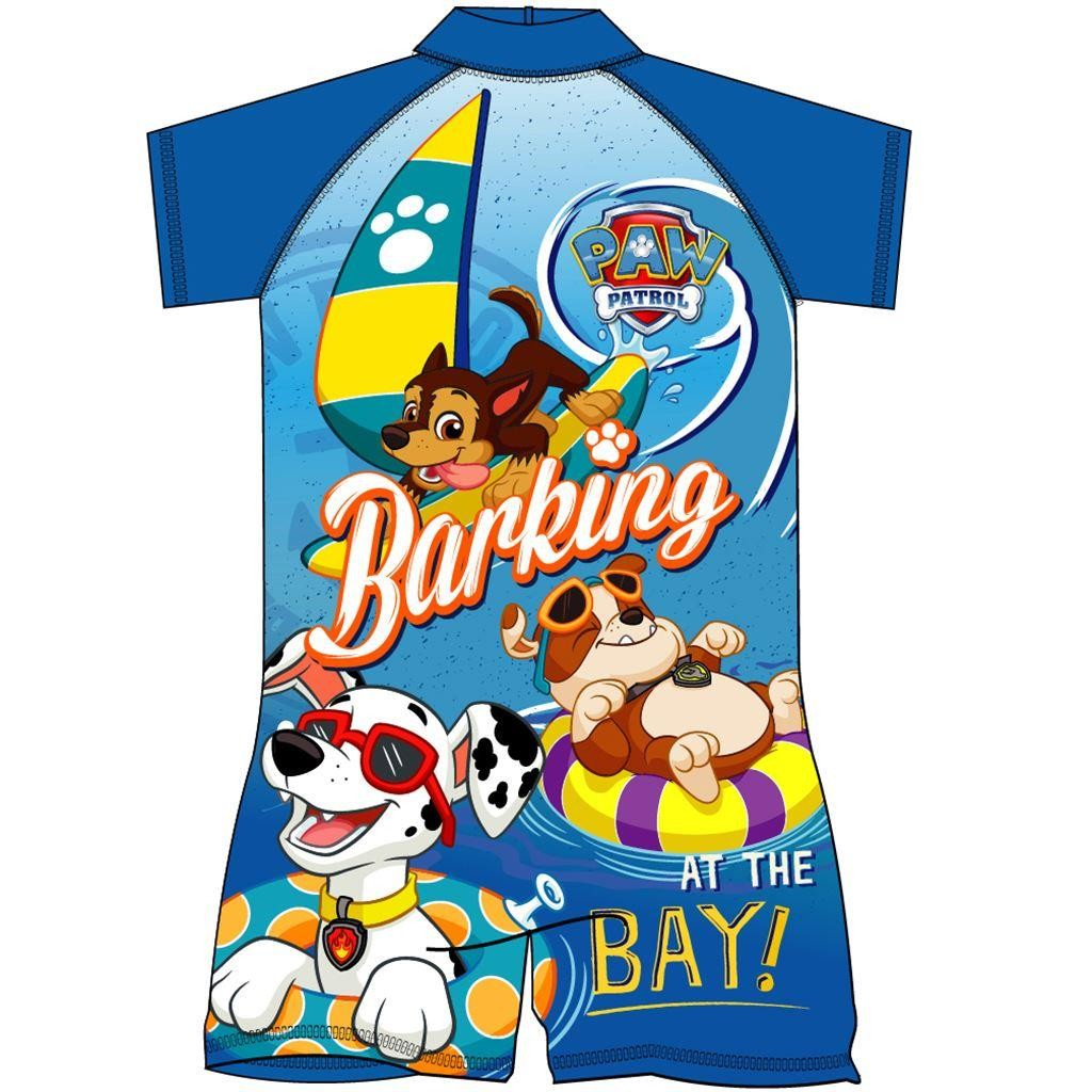 Paw Patrol Barking At The Bay Surf Suit
