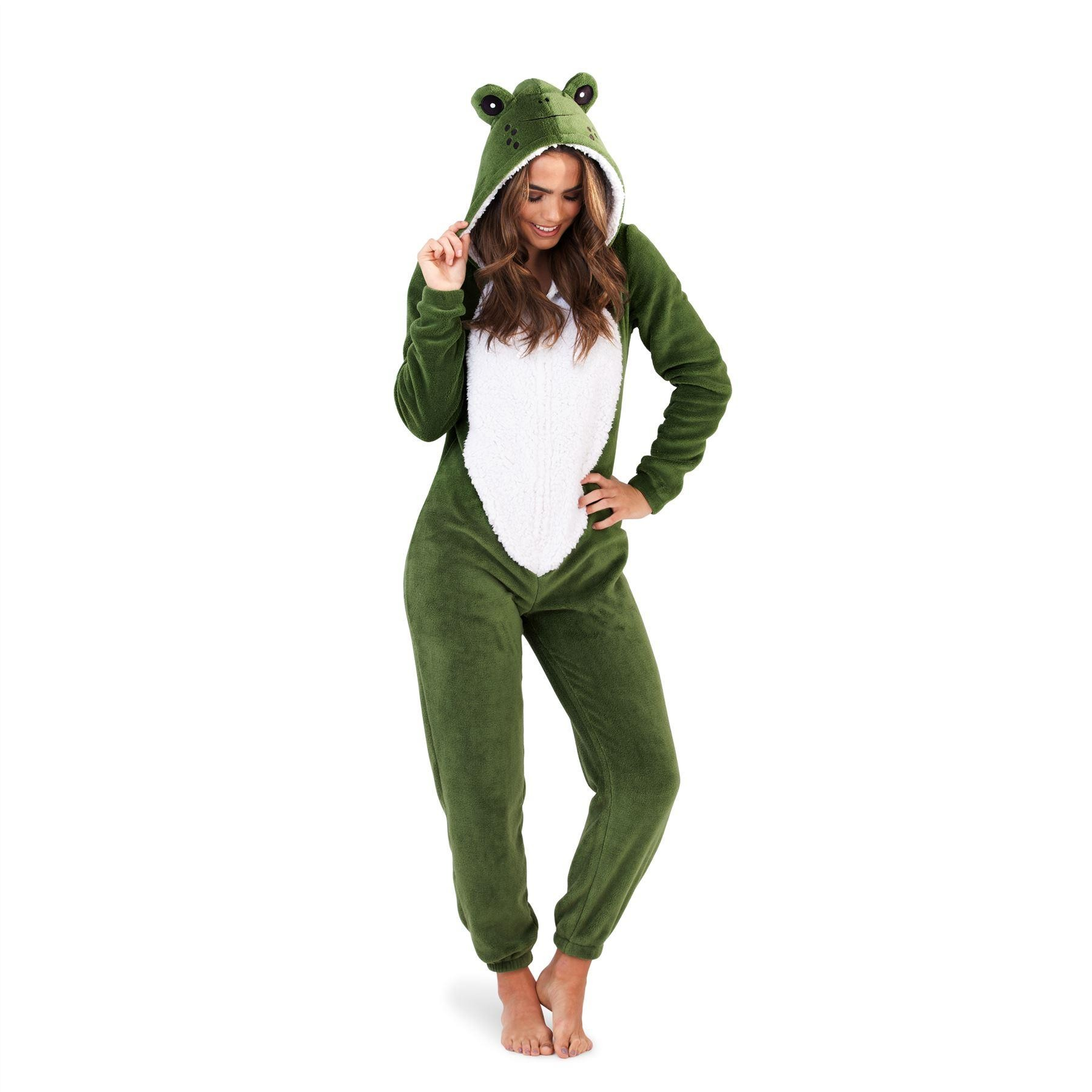 Loungeable Boutique Frog Onesie