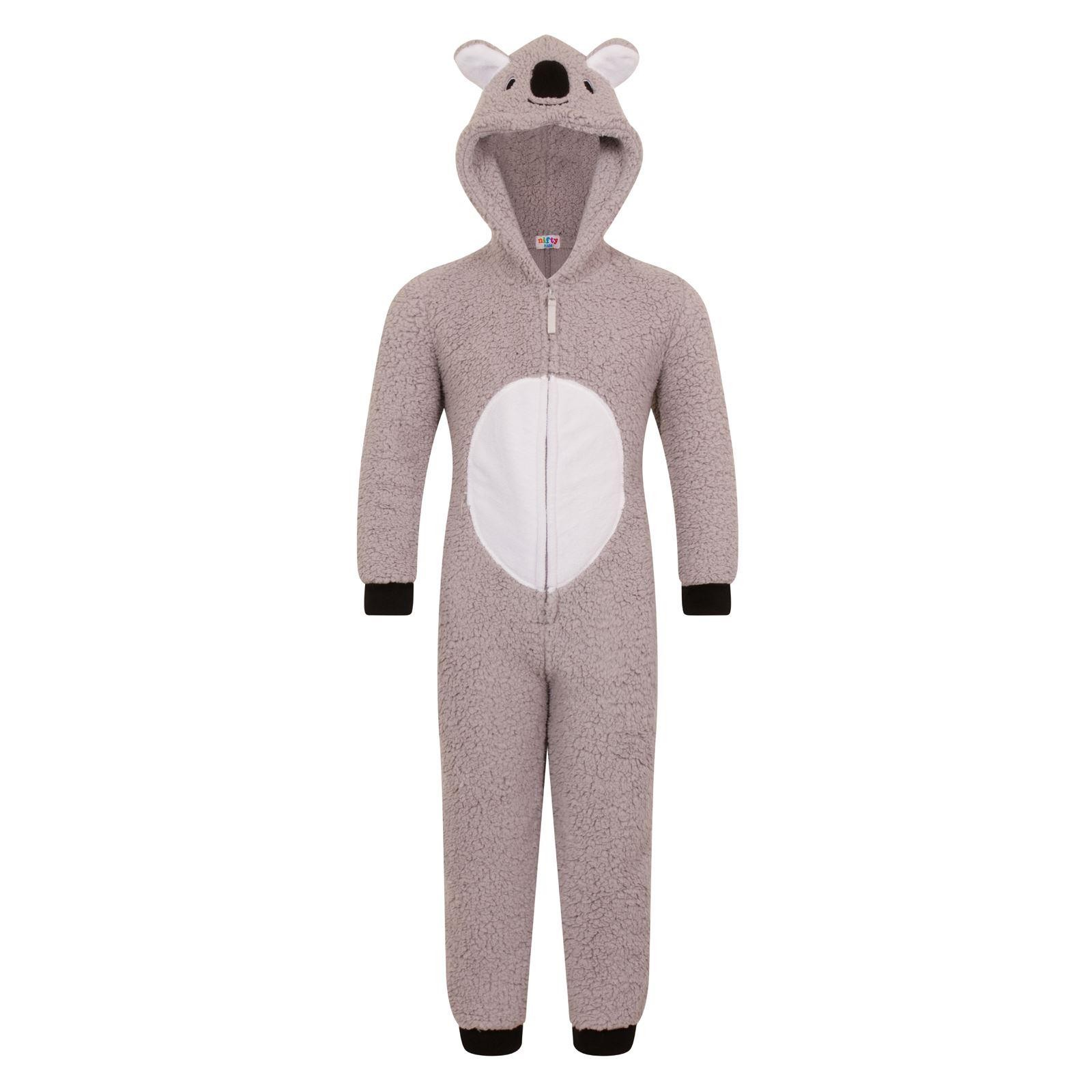 Nifty Kids Koala Bear Fleece Onesie