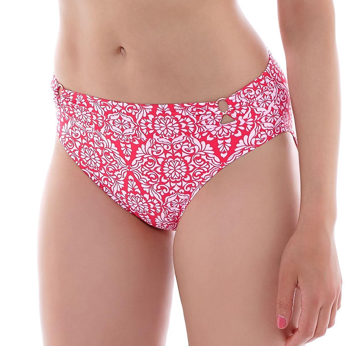 Fantasie San Francisco Mid Rise Bikini Brief - Hot Coral