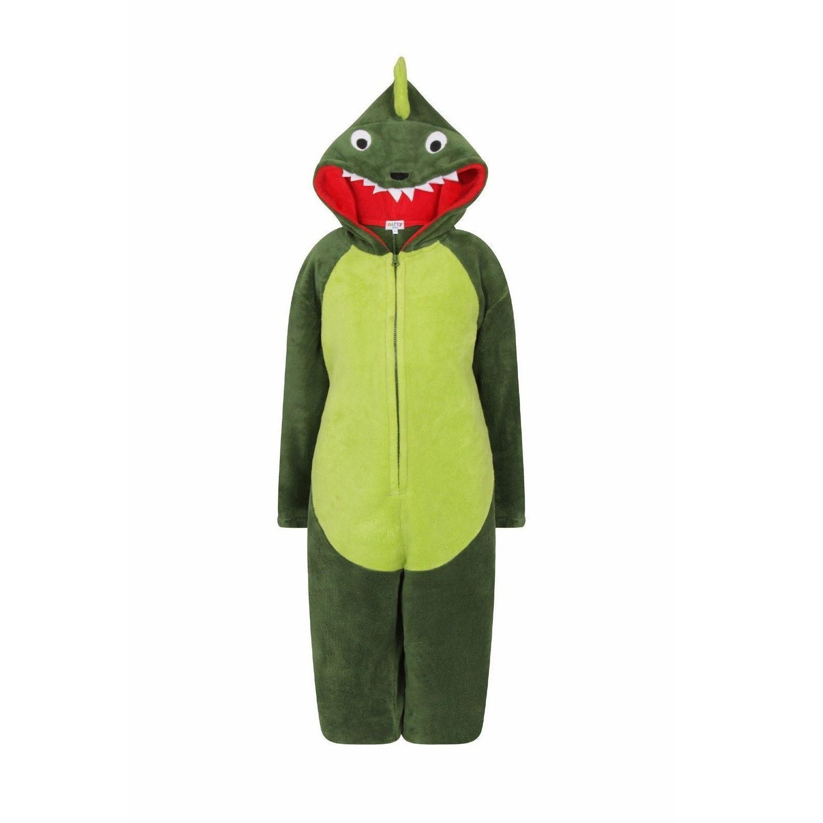 Nifty Kids Dinosaur Fleece Onesie